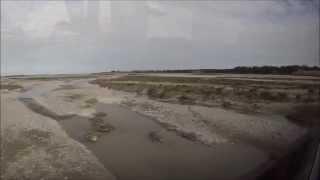 preview picture of video 'Rakaia River Bridge'