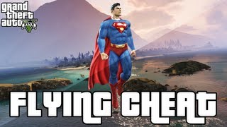 GTA 5 Flying Cheat - Superman Flying Cheat Code (GTA 5 Cheats) - Xbox 360&PS3
