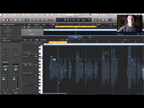 Logic Pro X Tutorial  – Flex Pitch