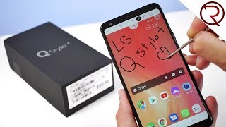 LG Q Stylo+ / LG Q Stylus Review - A smartphone with a Stylus!