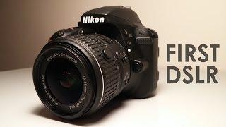 First DSLR! / Nikon D3300 Unboxing!