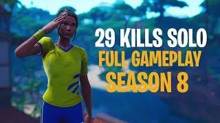 29 Kills Solo - S8 | Console - Fortnite Gameplay
