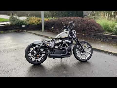 2011 Custom Harley-Davidson XL883N Sportster Iron 1200