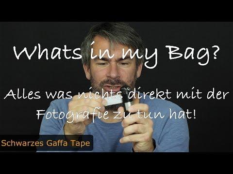 Der Inhalt meiner Fototasche - Whats in my Bag? (Non-Foto-Gadgets)