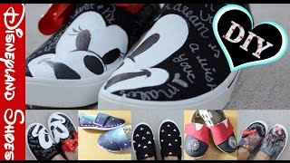 DIY Disneyland Shoes Collab With Natalia Montalvo And Giveaway!