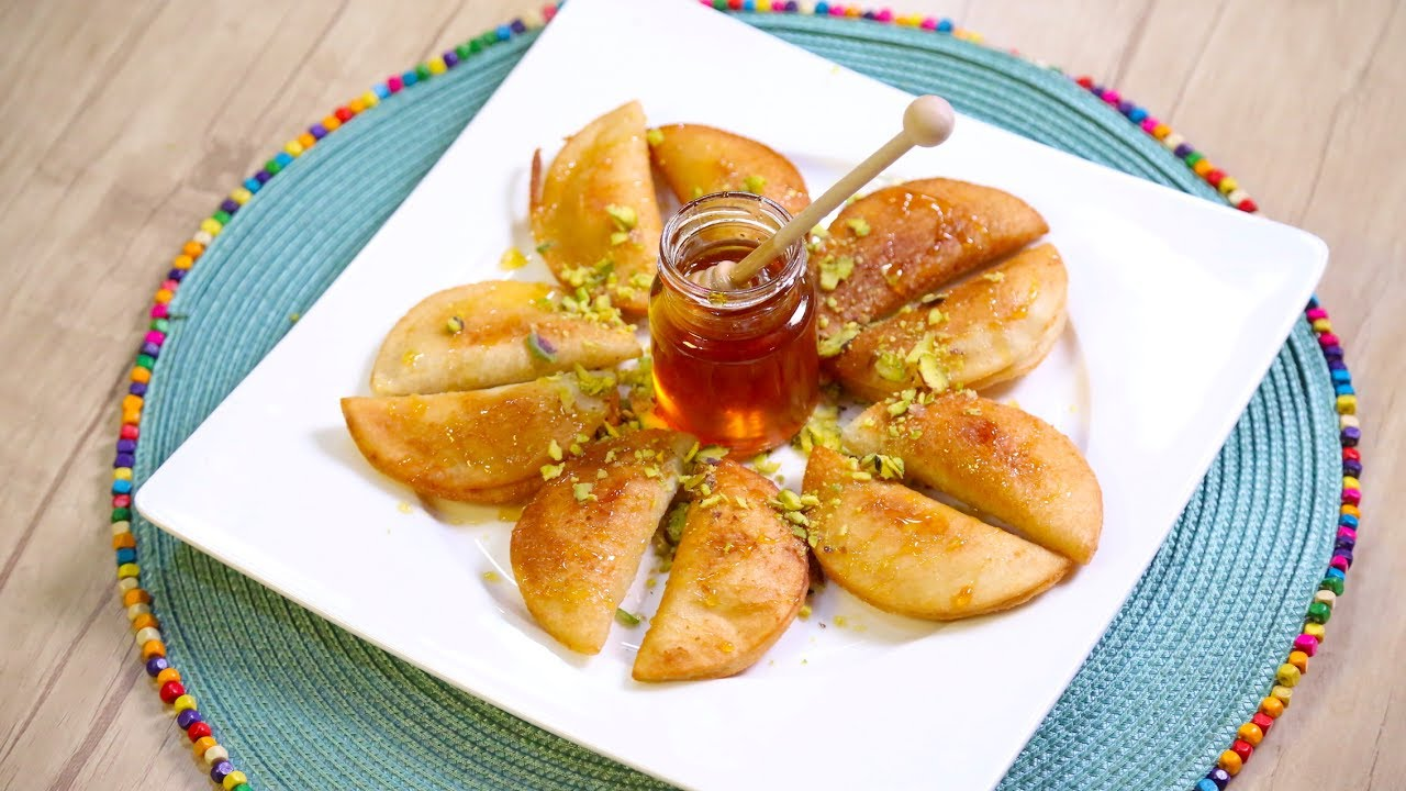 Stuffed Pancakes – Bread (Qatayef)