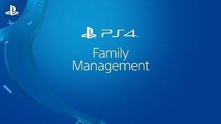 Parental Tip – Setup Family Management Success | PS4