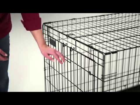 LifeStages Double Door Dog Crate