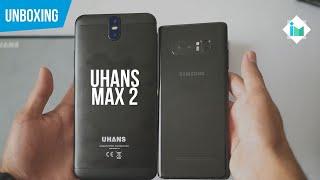 UHANS Max 2 - Unboxing en español