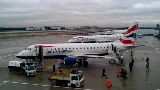 preview picture of video 'HD Timelapse: London City Airport Westerly Operations. A 'must watch''