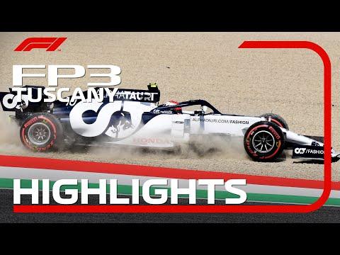 F1 2020 第9戦トスカーナGP(ムジェロサーキット)フリープラクティス3ハイライト動画