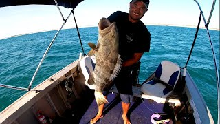 YAWURU LIFESTYLE EPISODE 13 - BIGGEST COD I'VE EVER SEEN, while fishing with my cousin.