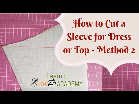 How to Cut Sleeves - Technique 2 | Quick Sewing Tips #3 | LTS Academy