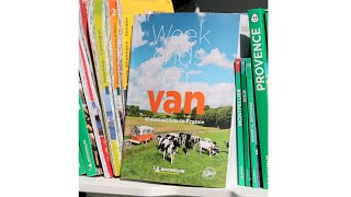 Guide Michelin Week-ends En Van, 52 Destinations En France