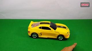 Xe đồ chơi tự động biến hình Robot Transformer chạy pin   car toy for kids