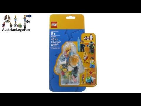 Vidéo LEGO Objets divers 40344 : Pack de figurines - La fête de l'été