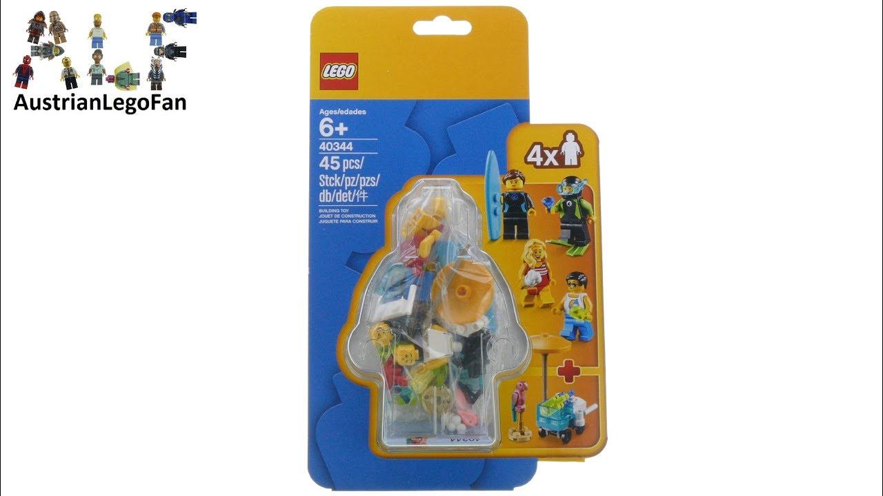 Lego Minifigures 40344 Summer Celebration Minifigure Pack Speed Build