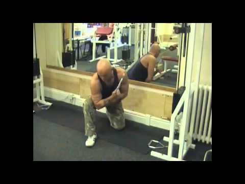 Cable Concentration Triceps Extension
