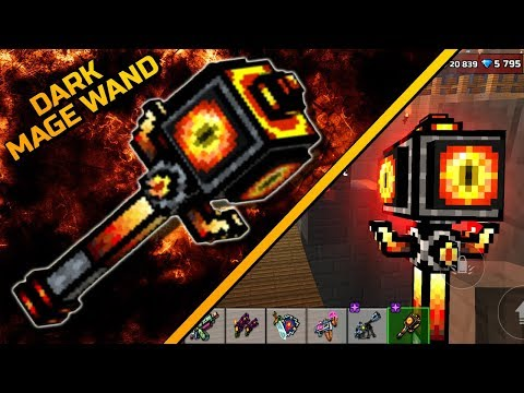 Pixel Gun 3D - Dark Mage Wand [Review]