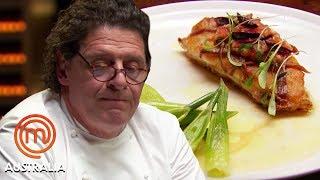 Marco Pierre White Tastes Nathaniel's John Dory - MasterChef Australia   MasterChef World