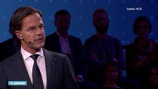 Premier Rutte heeft black-out tijdens slotdebat - RTL NIEUWS