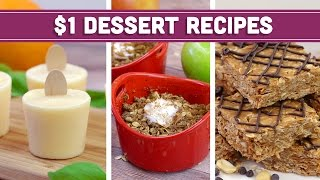 Healthy $1 Dessert Recipes - Easy Budget Meals! - Mind Over Munch