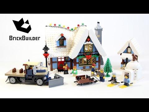 Vidéo LEGO Creator 10229 : Le cottage d'hiver