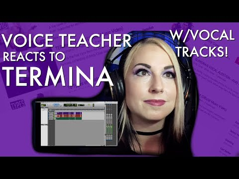 """Voice Teacher Reacts to """"Lucid"""" by Termina! Feat. Andy Cizek & Nik Nocturnal"""