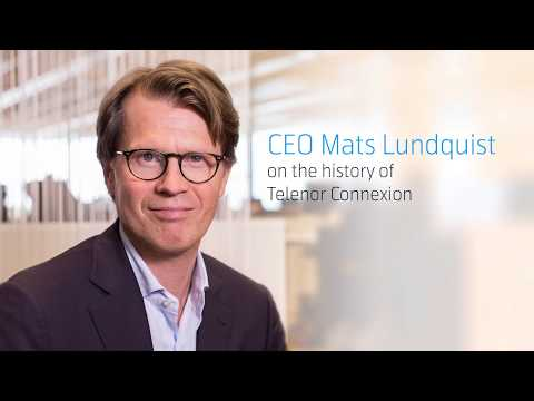 CEO Mats Lundquist on the history of Telenor Connexion