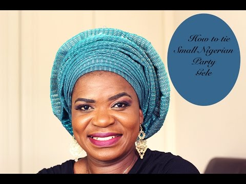 How to tie small Nigerian gele with pleats (BEGINNERS GUIDE)