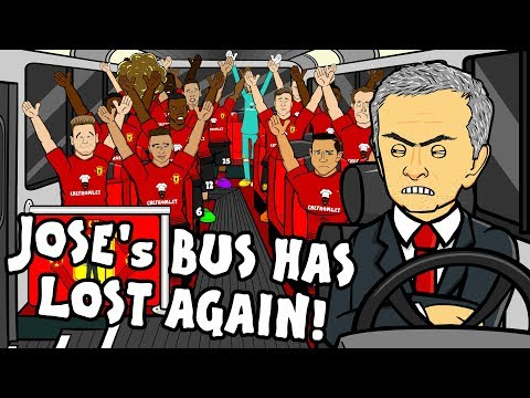 🚌JOSE'S BUS HAS LOST AGAIN - the song!🚌 (Man Utd vs Tottenham 0-3 Parody Highlights)