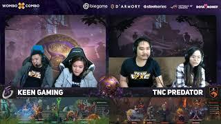 TNC Predator vs Keen Gaming Game 1 (Bo2) | The International Groupstage
