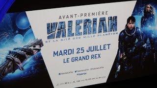 Trailer of Valerian et la cité des mille planètes (2017)