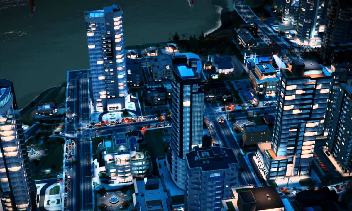 Damn, The New Sim City Looks Gorgeous In High Speed