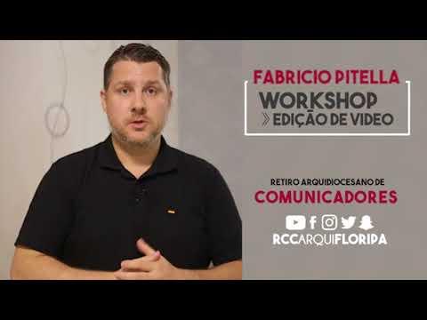 Retiro Arquidiocesano de Comunicadores   Workshop: Edição de vídeo