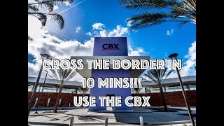 GET CHEAP FLIGHTS TO MEXICO: Use the Cross Border Xpress CBX