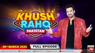 Khush Raho Pakistan | Faysal Quraishi Show | 6th March 2020 | BOL Entertainment