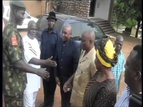 Chief Of Army Staff Visits Army Formations In  Benue State.