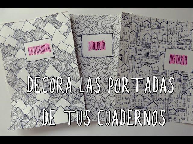 Dibujo De Hada Para La Portada De Una Libreta De Una Ni A: Video Personaliza Las Portadas De Tus Cuadernos O Libretas
