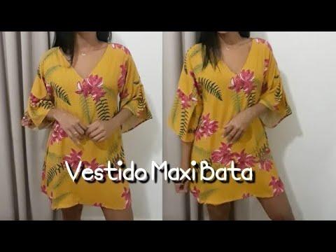 "Vestido ""Maxi Bata"""