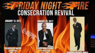 OBC Friday Night Fire Consecration 2017 Revival Promo