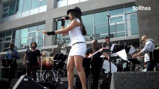 Charice Live @ Grammy Block Party - Pyramid (Part 1/3)
