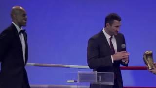"""Владимир Кличко на церемонии вручения """"Легенды бокса AIBA"""" 2016"""