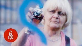 Meet The 71-Year-Old Graffiti Grandma Scrubbing Away Hate