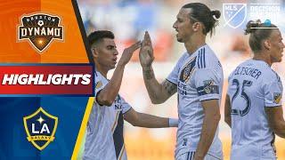 Houston Dynamo vs. LA Galaxy |  LA Galaxy Chasing Home Field Advantage |  HIGHLIGHTS