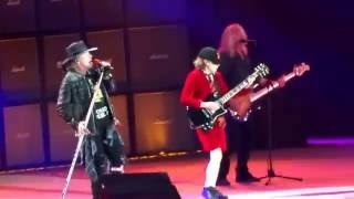 AC/DC & Axl Rose - GOT SOME ROCK & ROLL THUNDER HD - Hamburg Germany, May 26, 2016 Rock Or Bust Tour