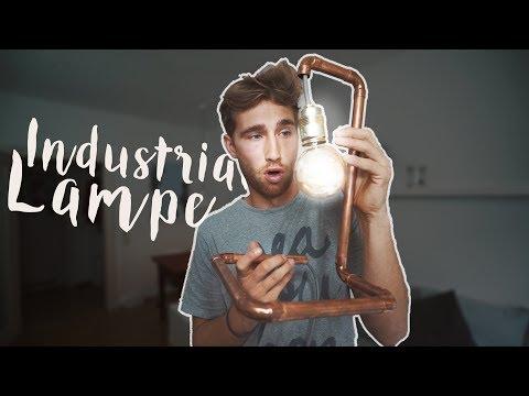DIY INDUSTRIAL LAMPE SELBER MACHEN - einfach selber bauen | EASY ALEX