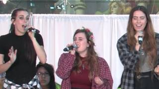 "Cimorelli ""Unwritten"" by Natasha Bedingfield at 2016  Summit Dinner"
