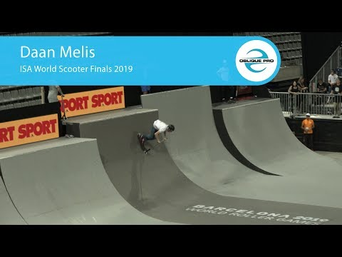 Daan Melis - ISA Men's World Scooter Semi Finals 2019