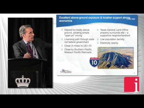 Anthony Marchese of Texas Rare Earth presents at the Technol ... Thumbnail